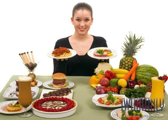 Дробное питание меню